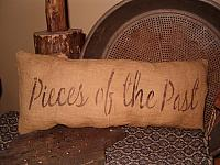 pieces of the past pillow