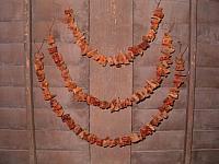dried sweet potato garlands