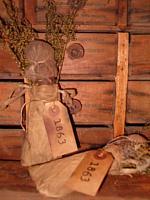 1863 clothespin doll sack