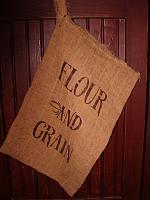 Flour and Grain floursack