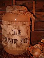 Olde Country Store jumbo pantry jar
