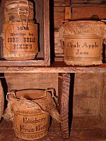 small prim pantry jars
