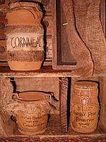prim pantry jars