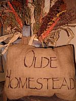 olde homestead pillow