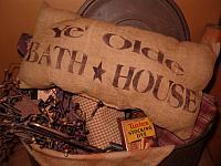 Ye Olde Bath House pillow