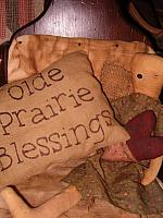 olde prairie blessings pillow