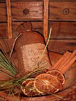 Mulling Spices stuffed ditty bag
