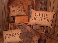 olde graters pillow set