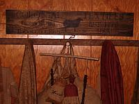 colonial textiles sign