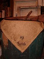 milk buckets napkin