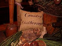 country gatherings pillow tuck
