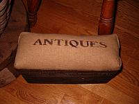 small antiques bench