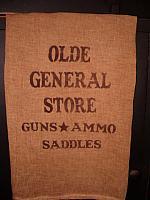 olde general store towel