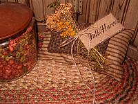 Fall Harvest pillow stack