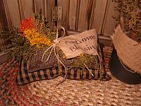 Autumn blessings pillow stack