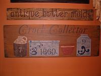 Crock collector sign