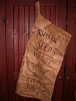 large sahker seeds sack