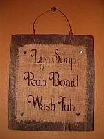 lye soap laundry hanger