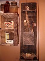 Bathroom wall caddy