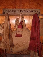 prairie bonnets sign