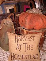 Harvest at the Homestead pillow, table runner, or towel