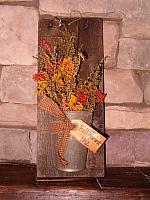Fall Harvest 1812 wall hanger