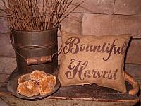 bountiful harvest pillow