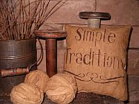 simple traditions pillow