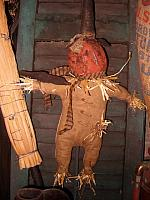 Corn E. Fields scarecrow
