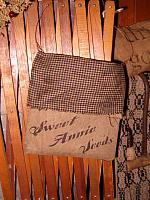 Sweet Annie seed pouch