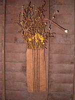 Heirloom dried floral hanger