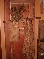 herbs stick hanger