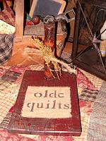 Olde Quilts candle board