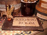 keeping room candle board
