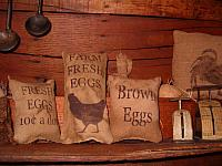fresh eggs pillow tucks