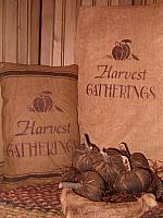 Harvest gatherings pillow or towel