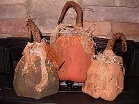 grungy footed pumpkins