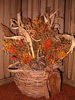 Primitive Fall Gatherings basket