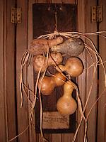 Gourds barnwood hanger