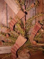 mini heirloom stocking ornies