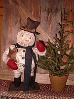 Charlie the chubby snowman