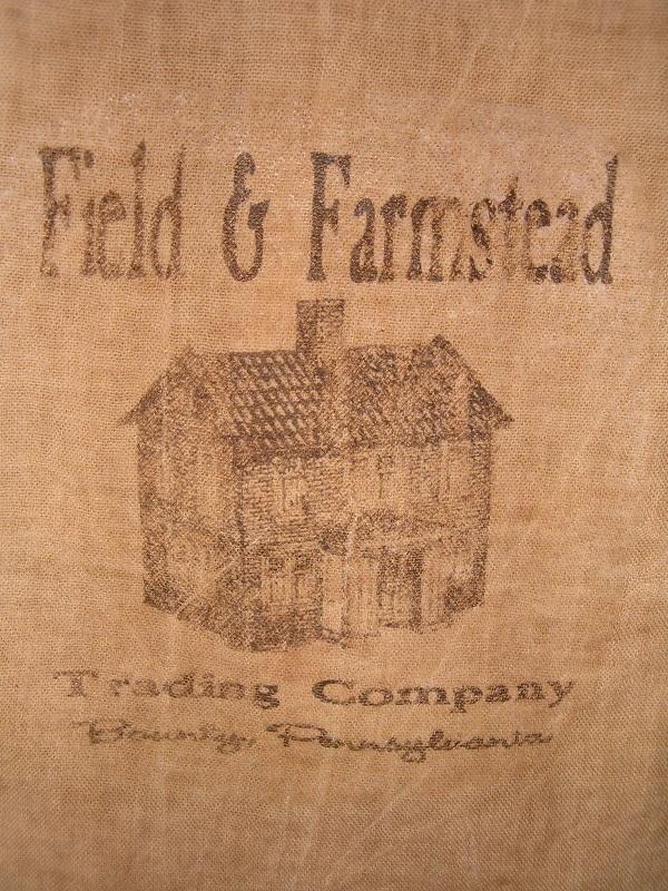 Field and Farmstead flour sack items