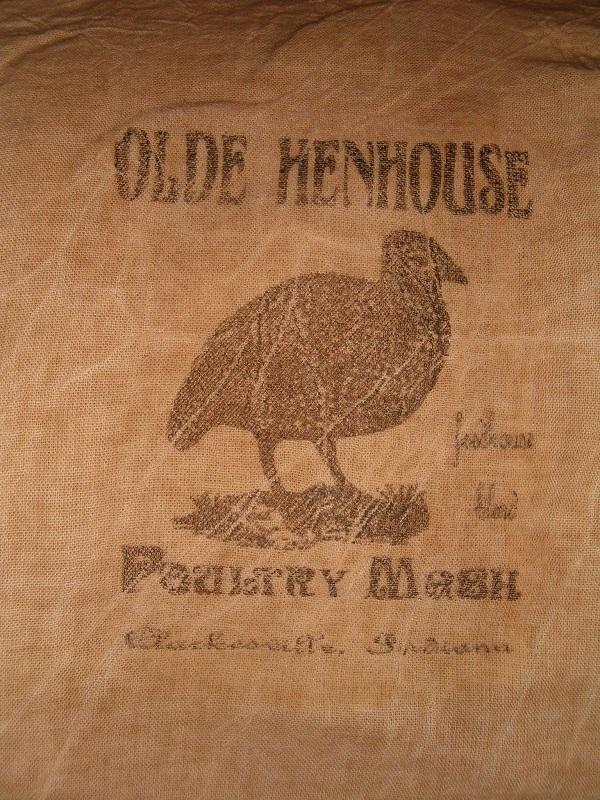 olde henhouse flour sack items