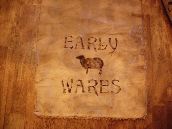 early wares table runner