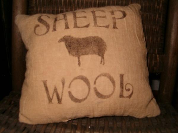Sheep Wool pillow