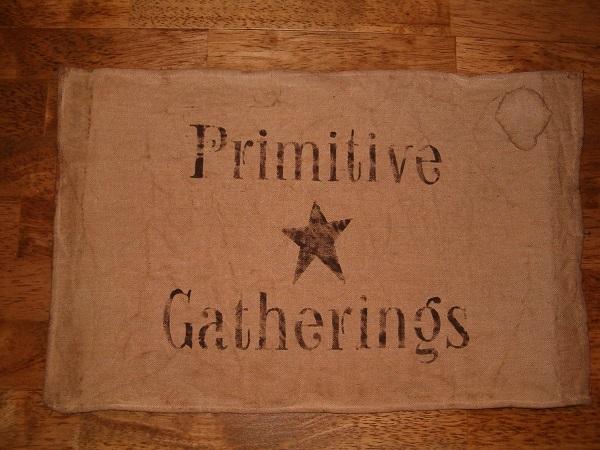 primitive gatherings placemats