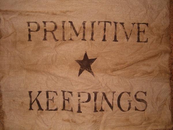 primitive keepings table runner