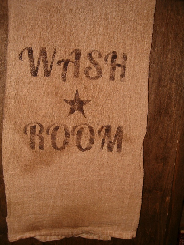 Wash Room floursack towel