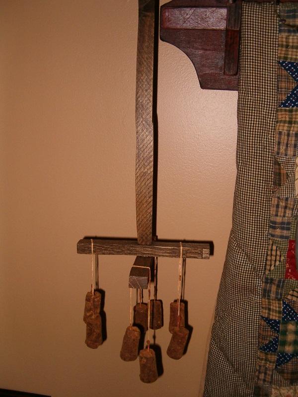 prim hanging candle dryer