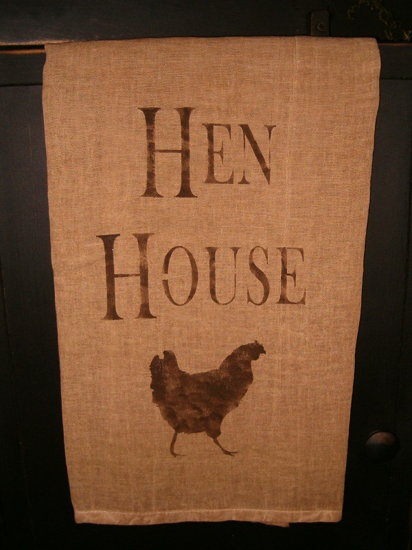 Hen House towel